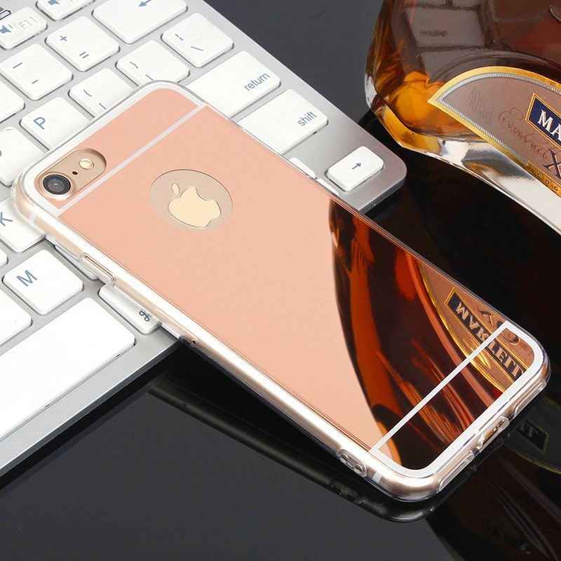 Cosmetic Mirror Phone Case-phone case supplier,custom iphone cases,fast wireless charger-PinJing Electronics