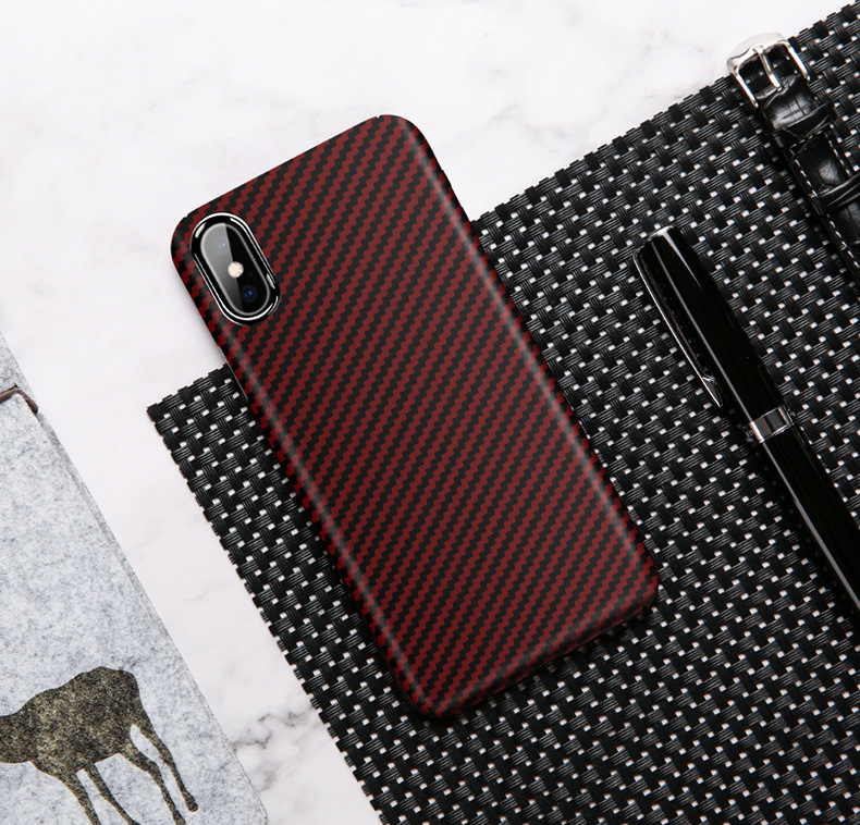 Kevlar Aramid Carbon Fiber Phone Case PJA00059