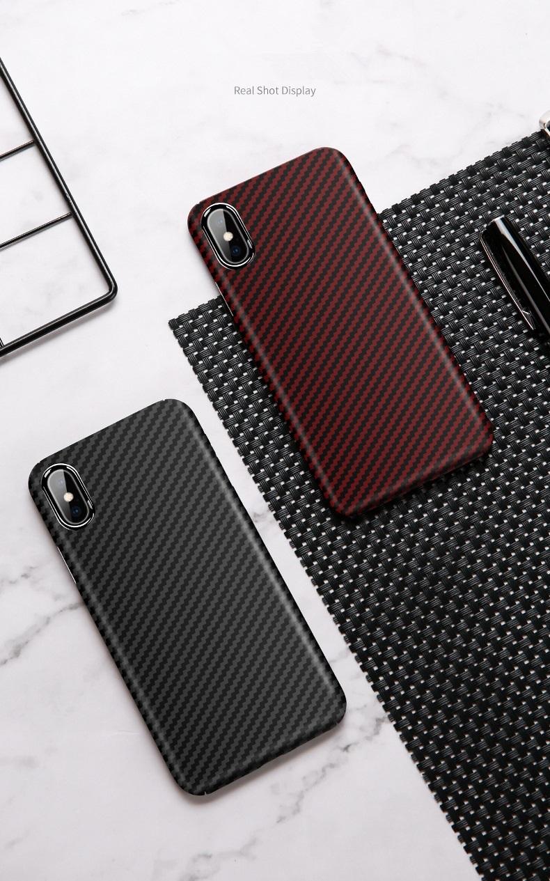 Kevlar aramid carbon fiber mobile phone cover