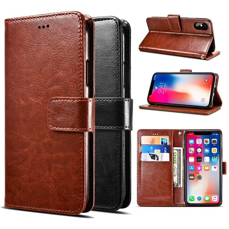 PU leather Wallet Flip Phone Case