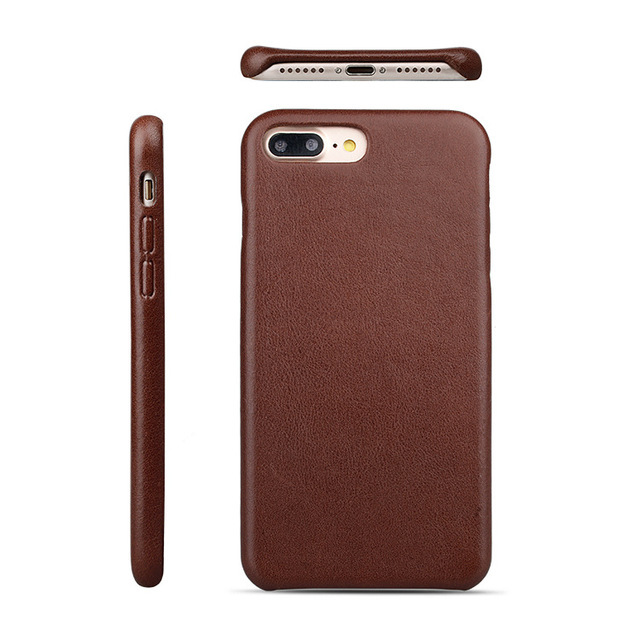 Mobile Phone Leather Back Cover Case