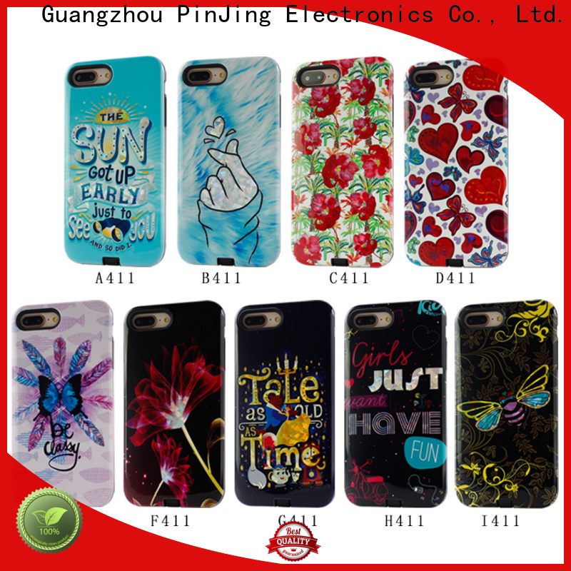 PinJing Electronics card pink phone case Suppliers for iphone