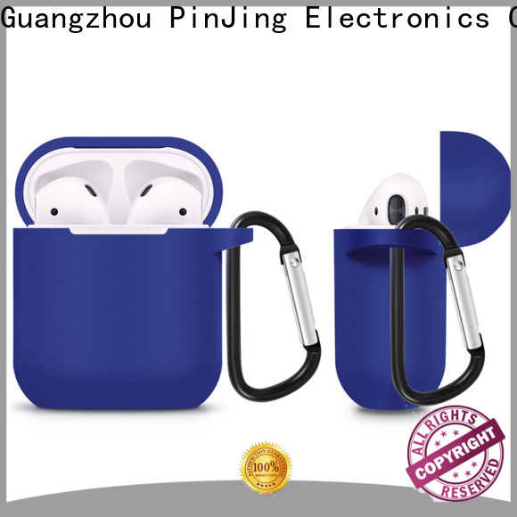 PinJing Electronics leather Case For Apple AirPod factory for phone