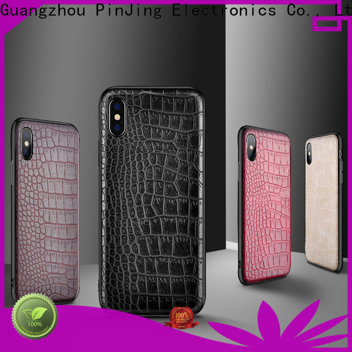 PinJing Electronics Latest phone case card holder company for iphone