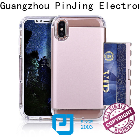 PinJing Electronics glitter phone case for huawei factory for mobile phone