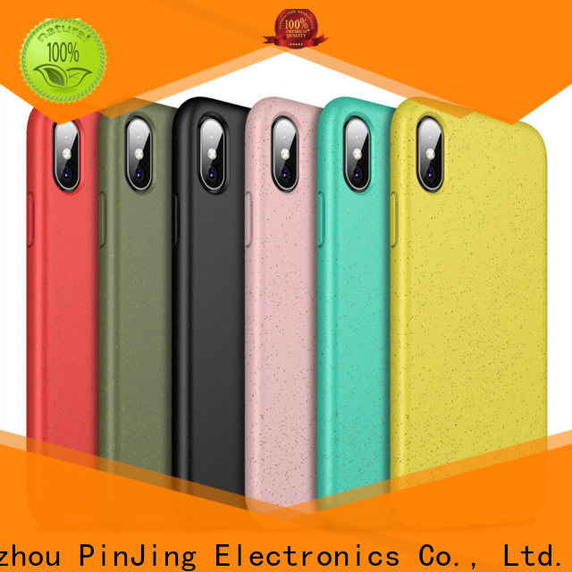 PinJing Electronics clear phone case card holder Suppliers for phone
