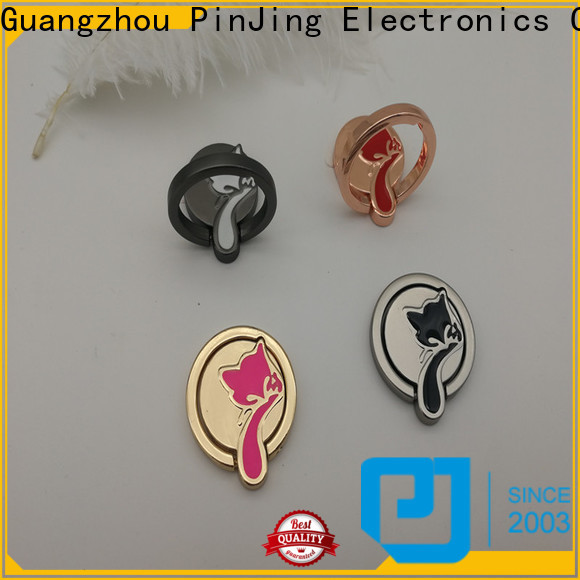 PinJing Electronics alloy gold ring holder company for iphone