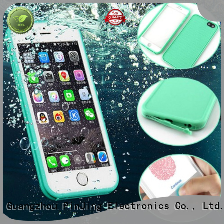 PinJing Electronics cellphone phone silicone case supplier for iphone
