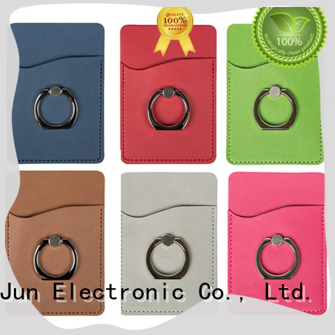 Credit Card Slot Wallet Case with Ring Holder PJA30007