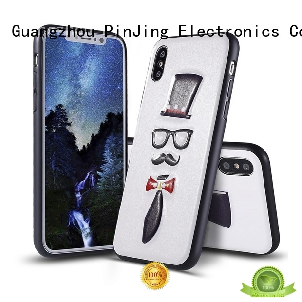 PinJing Electronics acrylic adidas phone case video for mobile phone