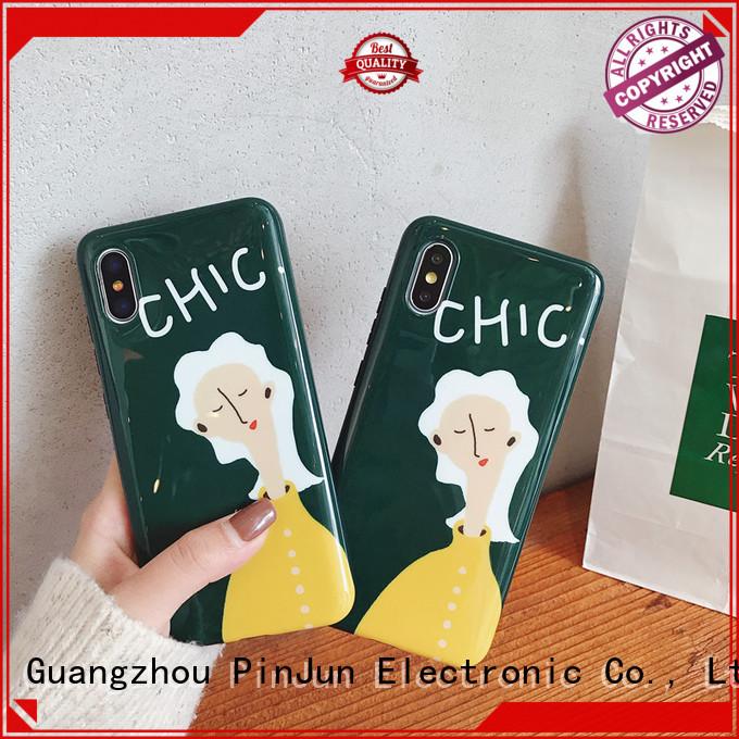 phone case logo chic for iphone PinJun Electronic
