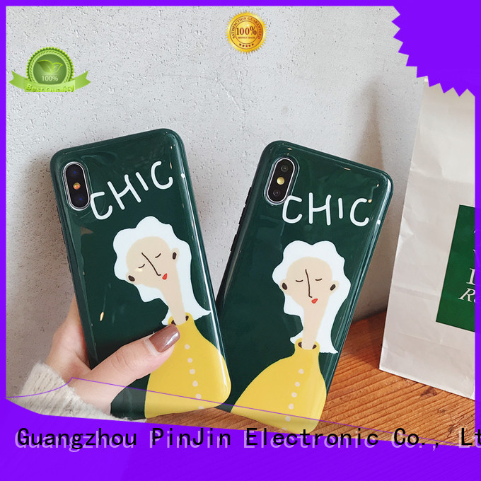 PinJin Electronic design wood case phone materials for shop