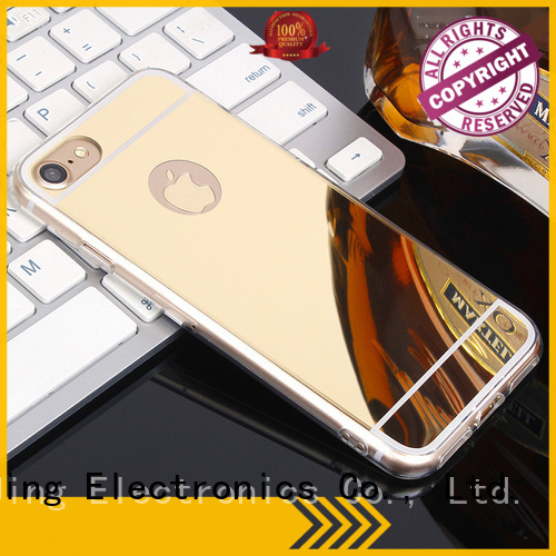 PinJing Electronics hard funny phone case rotation for iphone