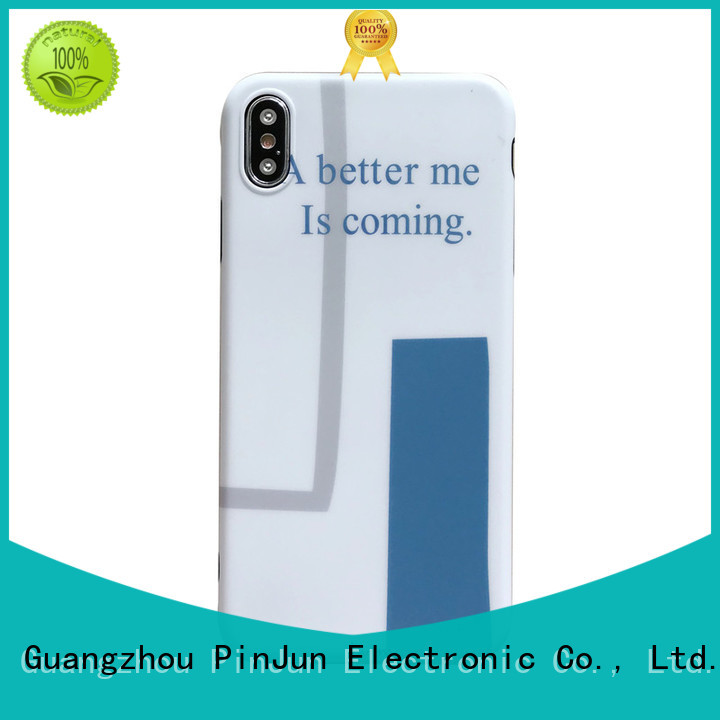 customized glass case for iphone supplier for mobile phone PinJun Electronic