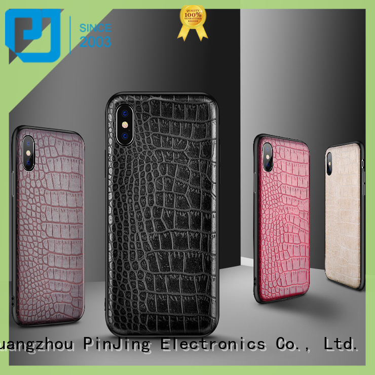 New lether phone case acrylic company for shop