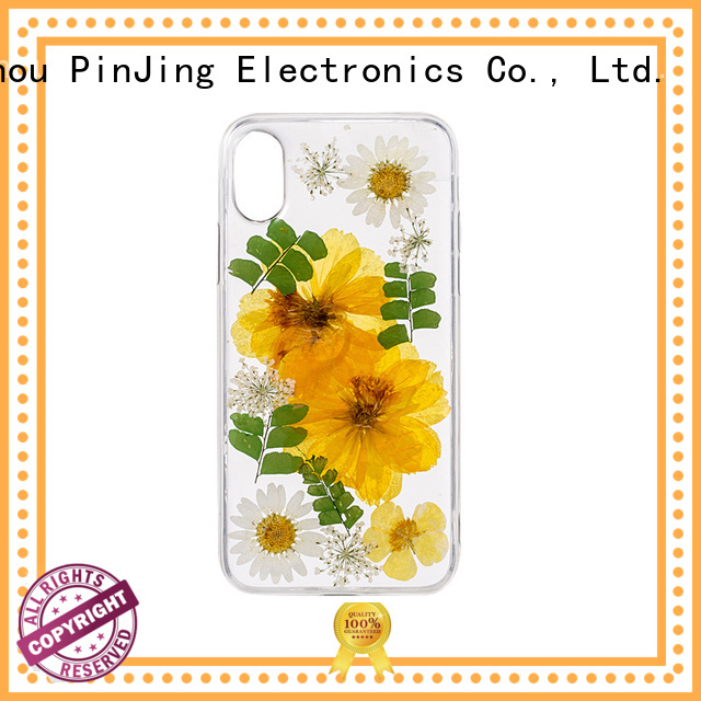 PinJing Electronics back phone silicone case wholesale for phone