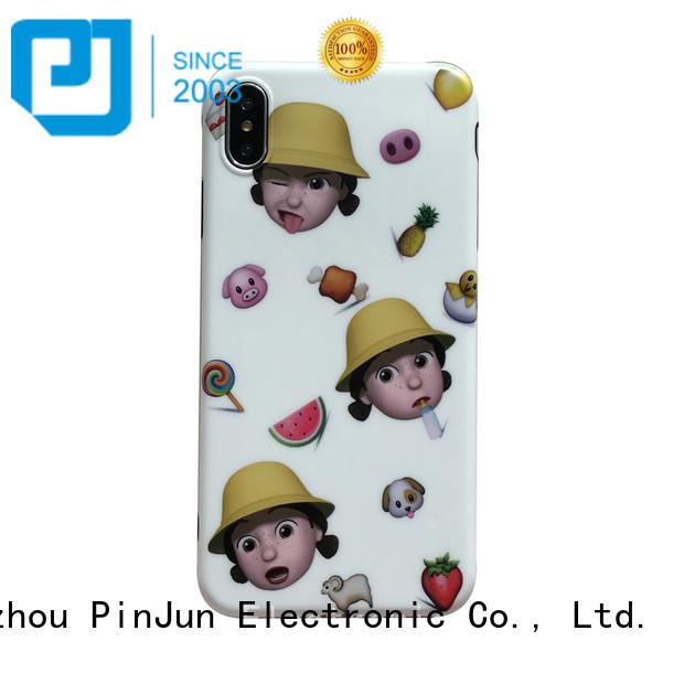 glitter custom iphone x cover wholesale for iphone PinJun Electronic
