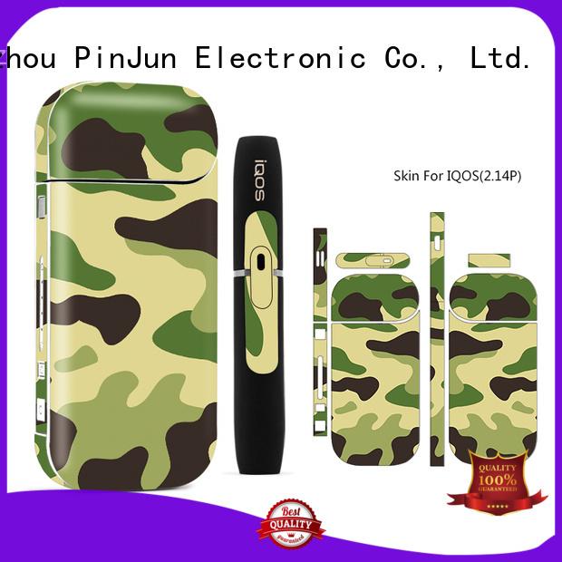 cigarette leather e cigarette case rubber for mobile phone PinJun Electronic