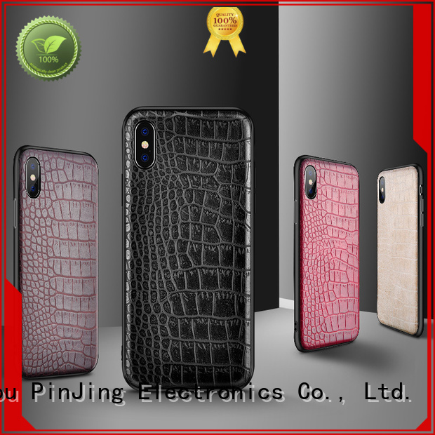 PinJing Electronics layer phone wallet case rotation for mobile phone