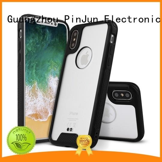 TPU+High Clear Acrylic Hybrid Case for Smartphone PJA00043