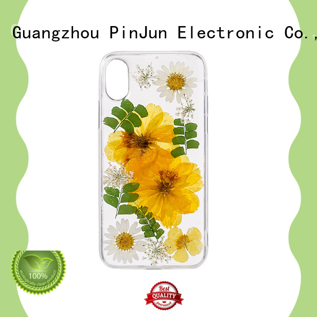 PinJun Electronic back custom silicone phone case wholesale for mobile phone