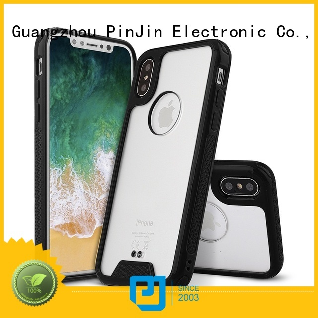 PinJin Electronic hybrid custom iphone xs max case materials for mobile phone