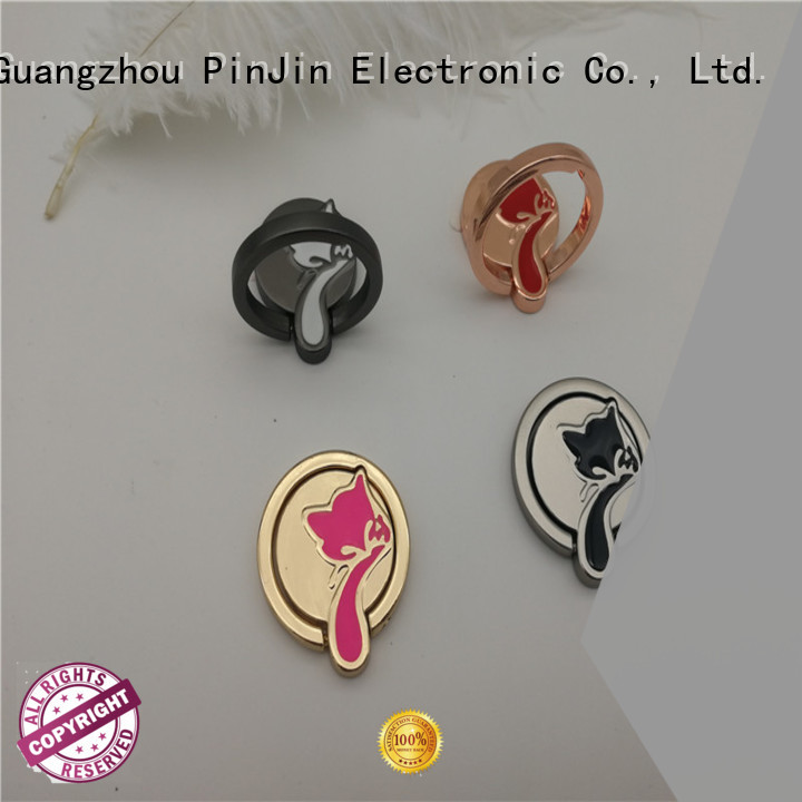 PinJin Electronic environmentally phone finger ring materials for shop