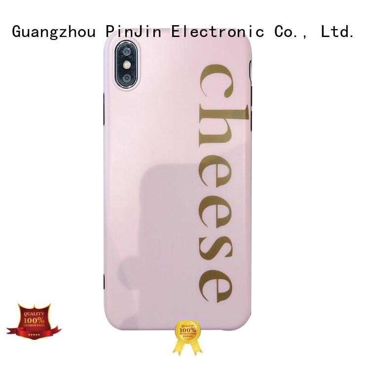 PinJin Electronic girls bespoke phone case series for shop