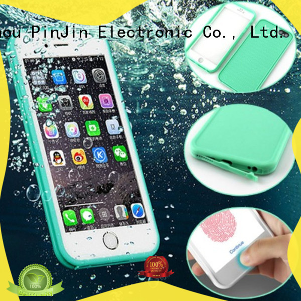 PinJin Electronic card bespoke iphone 7 case holder for iphone