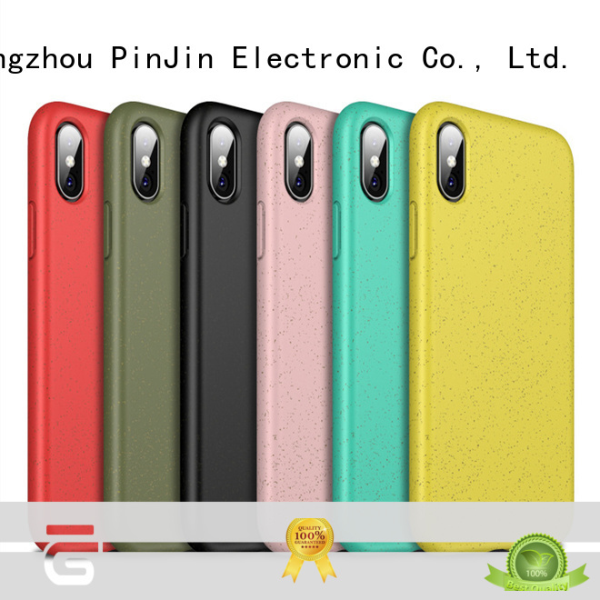 PinJin Electronic silicone iphone x cover series for iphone