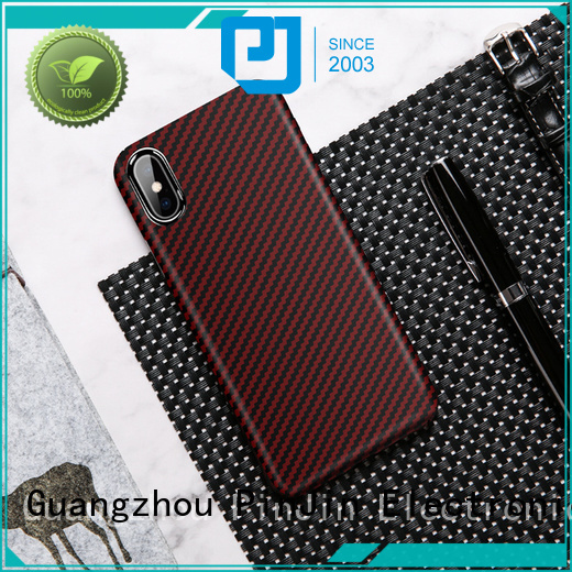 PinJin Electronic back lether phone case wholesale for mobile phone