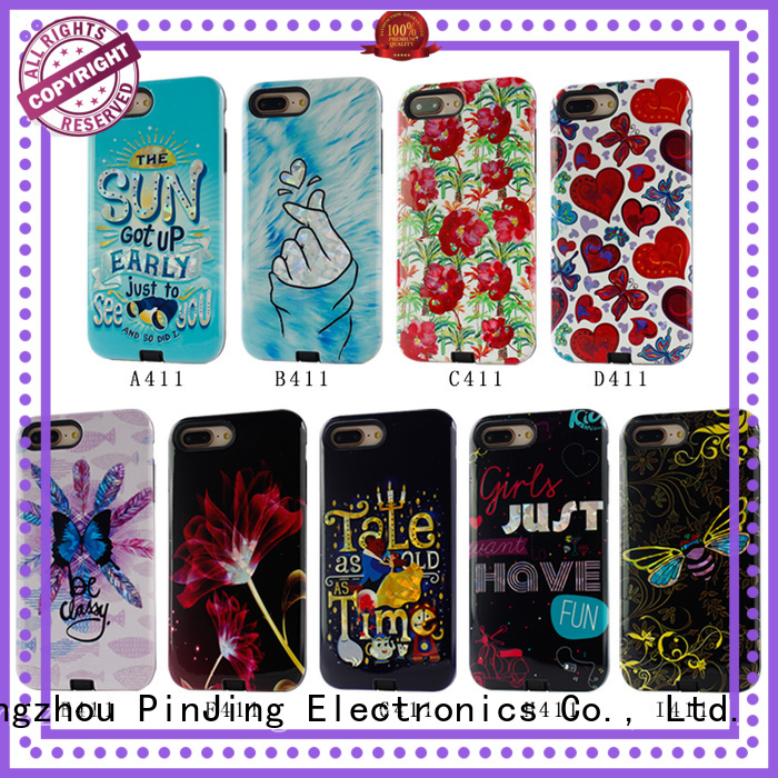 useful lether phone case hybrid series for phone