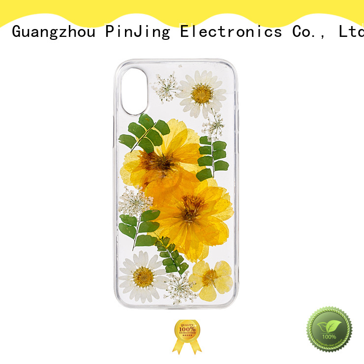 PinJing Electronics texture bling phone case factory for mobile phone