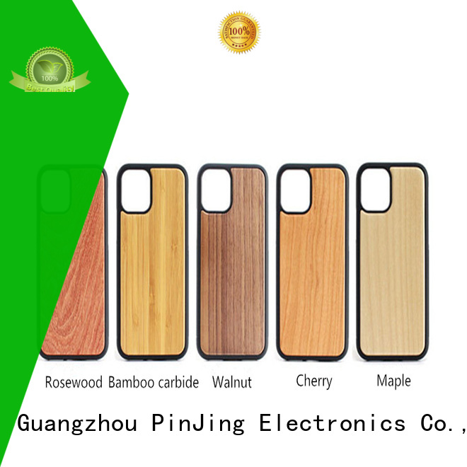 PinJing Electronics back lether phone case Suppliers for mobile phone