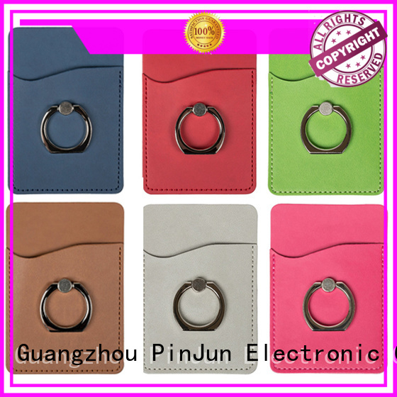 square iring phone holder alloy for mobile phone PinJun Electronic