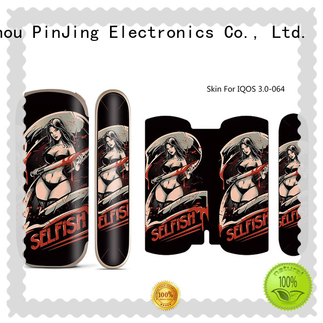PinJing Electronics rubber e cigarette case holder wholesale for iphone