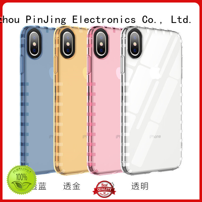 PinJing Electronics cover wood case phone rotation for shop
